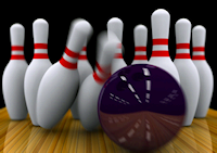 bowling alley booking system