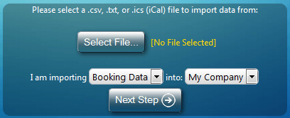 Import iCal Bookings into MIDAS