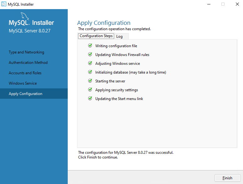 How to install & configure MySQL on a Windows server